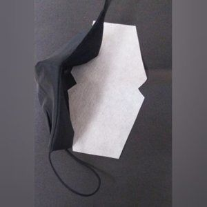 Accessories - NEW BLACK COTTON RE USE-ABLE MASK WITH FILTER